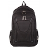backpack, 6 x 18-1/2 x 11-3/4, Black