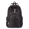 Bugatti backpack, 6-3/4 x 18-1/2 x 12-1/2, Black