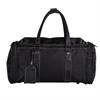 Bugatti Duffle bag, 10 x 10 x 19, Black