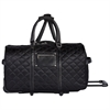VAIL LADIES DUFFLE ON WHEELS, 12 x 14 x 23, Black