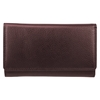 Bugatti Wallet, 1-1/4 x 3-1/2 x 6, Brown