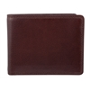 Bugatti Wallet, 1/2 x 3-1/2 x 4-1/2, Brown