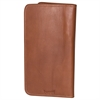 Travel accessory, 0 x 9 x 4-3/4, Cognac