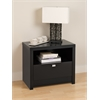 Black Series 9 Designer - 1 Drawer Nightstand