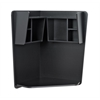 Prepac Prepac Floating Corner Desk, Black