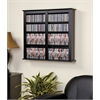 Prepac Black Double Wall Mounted Storage