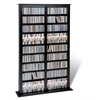 Prepac Black Double Width Barrister Tower