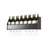 Floating Wine Rack in Black