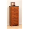 Cherry Monterey Tall 6 Drawer Chest