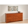 Prepac Cherry Monterey 6 Drawer Dresser