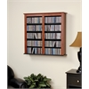 Cherry & Black Double Wall Mounted Storage