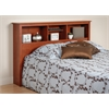 Prepac Cherry Full / Queen Bookcase Headboard