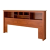 Cherry King Bookcase Headboard