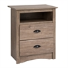Salt Spring Tall Night Stand in Drifted Gray