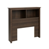 Prepac Espresso Twin Bookcase Headboard