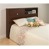 Warm Cherry Series 9 Designer Full / Queen 2 Door Headboard