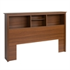 Riverdale Double / Queen Bookcase Headboard, Warm Cherry