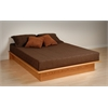 Oak Full Platform Bed
