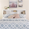 Prepac White Full /  Queen Bookcase Headboard