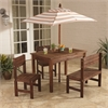 KidKraft Outdoor Patio Set - Oatmeal & White