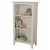 Avalon Tall Bookshelf - White