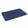 KidKraft Austin Toy Box Cushion- White/Navy Stars