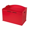 KidKraft Austin Toy Box- Red