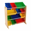 KidKraft Sort it & Store it Bin Unit (bins included)