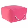 Square Pouf - Red