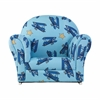KidKraft Upholstered Rocker with Slip Cover - Airplanes