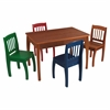 KidKraft Euro Honey Table & 4 Chairs