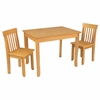 Avalon Table II & Chairs Set Natural