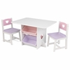 KidKraft Heart Table &  2 Chair Set