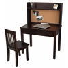 Pin board Desk with Hutch & Chair