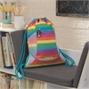 Drawstring Backpack - Rainbow