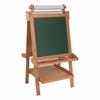 KidKraft Deluxe Wood Easel w/ paper Roll - Natural