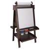 Deluxe Wood Easel w/ Paper Roll - Espresso