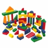 60 pc Wooden Block Set - Primary Colors