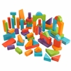 KidKraft 60 pc Wooden Block Set - Bright Colors