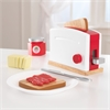 KidKraft Red & White Toaster Set