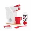 KidKraft Red & White Coffee Set