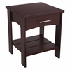 KidKraft Addison Twin Side Table Espresso
