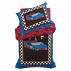 Racecar Toddler Bedding 4 pc Set
