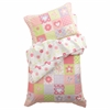 Dollhouse Cottage Toddler Bedding 4 pc Set