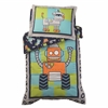 Robot Toddler Bedding