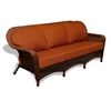 Tortuga Outdoor Lexington Sofa - Java -   Rave Brick