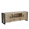 "Walker Edison 60"" Driftwood Wood TV Stand Console"