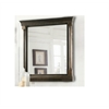 "Legion furniture 24"" Mirror With Antique Coffee Finish, Antique Coffee"