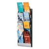 PAPERFLOW Maxi system wall display 4 pockets 1/3 letter