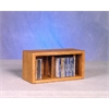 Wood Shed Solid Oak desktop or shelf CD Cabinet
